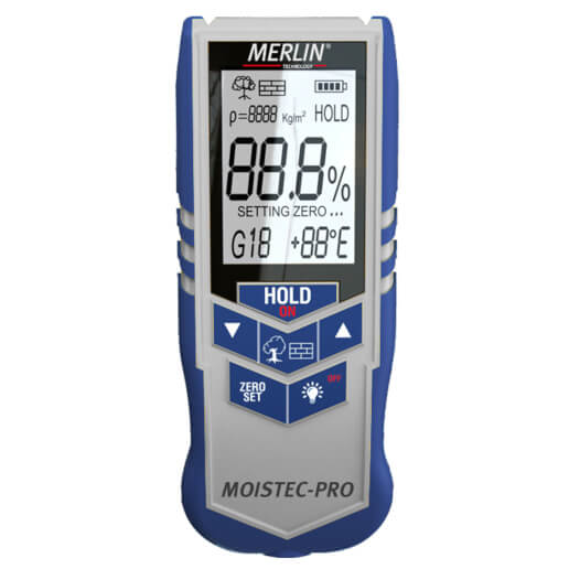 MOISTEC-PRO Wood and Building Moisture Meter