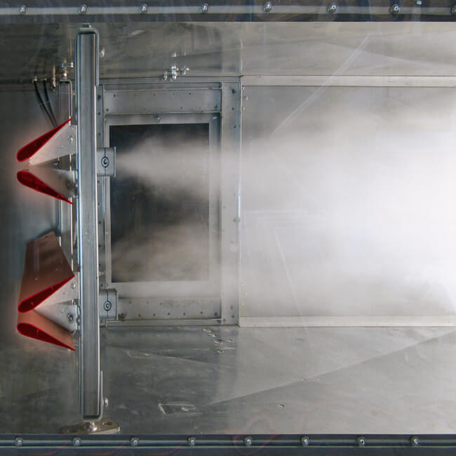 ORBIT WING Duct Humidifier