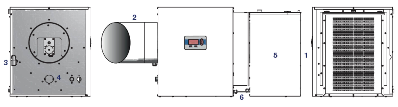 Rotation Lamella Layout Diagram