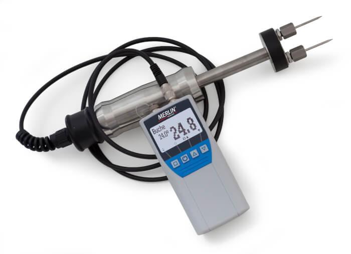 MOISTEC-BIO Biomass Moisture Meter